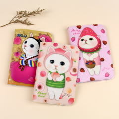 choo choo cat petite journey passport case 3[제토이]