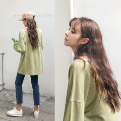 day colorings tee(C807YETE49)/기본티셔츠/베이직/박시/롱(D1-5-2)