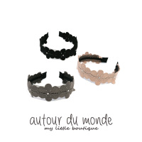 flower line hairband(3colors)