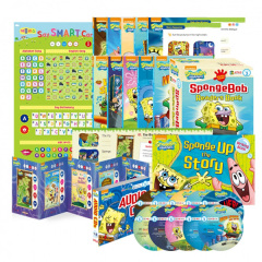 [세이펜BOOK] SpongeBob SquarePants 리더스북 Level 3 A세트