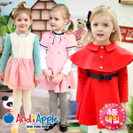 fresh spring girls dresses (4 types)