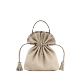 Lucky Pleats Crossbag Ecru Beige