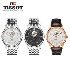 TISSOT TRADITION OPEN HEART 남성시계 스와치그룹 코리아 상품