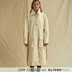[로우클래식] 19FW LEATHER COAT_IVORY (Z3LCI6CT002.IV)