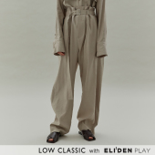 20SS HIGH WAIST PANTS - LIGHT BEIGE (Z3LCJ5PT003)(LOW20SS_PT08LB)