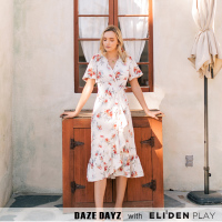[데이즈데이즈] DAZE DAYZ FIORE WRAP DRESS (D9M169)