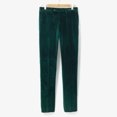 [PT01]SLIM FIT CORDUROY PANTS GREEN/PT92M30001A91