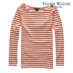 Easy Stripe long sleeve T-shirts - Orange