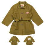 Airmail belted field jacket
