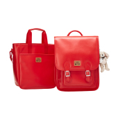 BONTON CLASSIC SQUARE BACKPACK SET