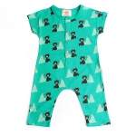 Multi bear friends baby overall