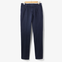 [TBRM]CLASSIC COTTON PANTS (WASHED) DARK NAVY/TB92M30003A73