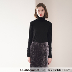 [우아솜메][정은지 착용] Ouahsommet SOFT TURTLE-NECK TOP [4 COLORS] (OBBTS001A)
