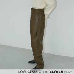 [로우클래식] 19FW DOWN POCKET PANTS_kHAKI (Z3LCI6PT001.KH)