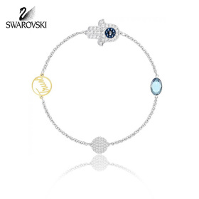 [SWAROVSKI] 5365759 / SWAROVSKI REMIX COLLECTION HAMSA HAND SYMBOL 팔찌