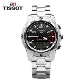 [TISSOT] T047.420.44.207.00(T0474204420700) / 티터치 T-Touch II Altimeter 티타늄 시계 43mm