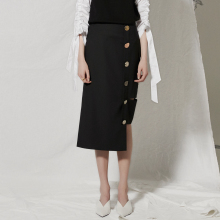 detachable skirt Black