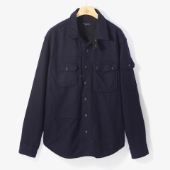 [엔지니어드 가먼츠]FIELD SHIRT JACKET DARK NAVY/EG92M10003A73