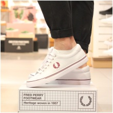 FRED PERRY 남성 언더스핀레더  Underspin Leather(183) SFPM1819092-183