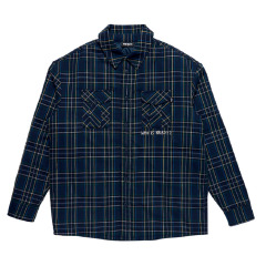 남녀공용 Padded Flannel Shirt Jacket (21083)