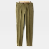 [GERMANO] SLIM FIT COTTON PANTS MILITARY GREEN/GE92M30001A96