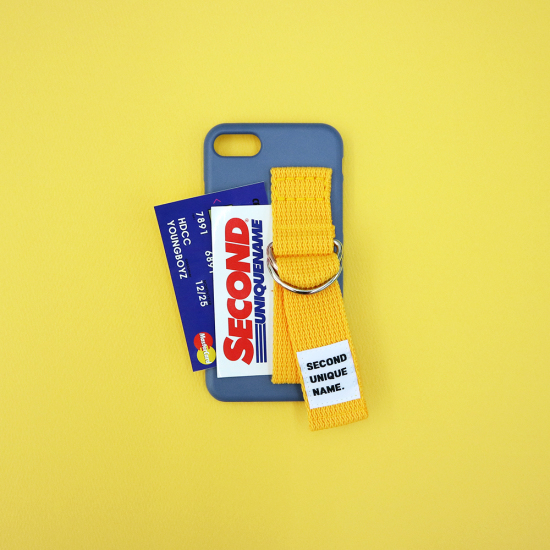 SUN CASE RIVER BLUE YELLOW (CARD) / 아이폰 케이스