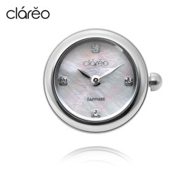CL2802WH / Lune Blanche Round