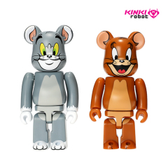 100*BEARBRICK TOM AND JERRY 2PACK (1908002)