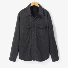 [엔지니어드 가먼츠]FIELD SHIRT JACKET GRAY/EG92M10004A13