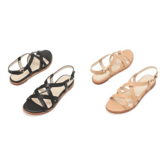 [Analeigh Grand Strappy Sandal] 여성 가죽 샌들 2종택일 CHSO9E211