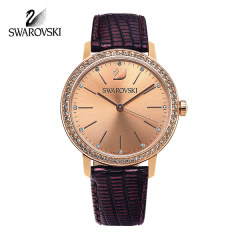 [SWAROVSKI] 5261472 GRACEFUL LADY 여성 가죽시계 37mm