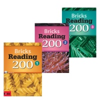 Bricks Reading 200 1 3권 (Paperback + Workbook + CD) 3D 종이모형 만들기 증정