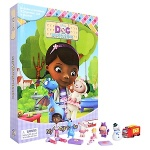 Disney Doc Mcstuffins My Busy Book   - 미니피규어 12개 포함