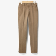 [TBRM]CLASSIC COTTON PANTS (WASHED) KHAKI/TB92M30003A23