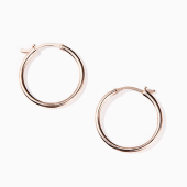 Simple round earring M (AL18209E002)