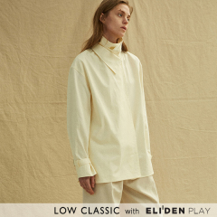 [로우클래식] 19FW DOUBLE COLLAR SHIRTS_CREAM (Z3LCI6ST002.CR)