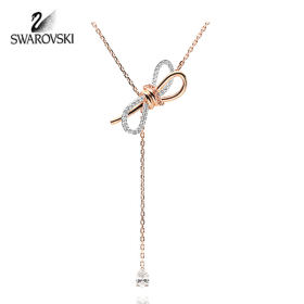 [SWAROVSKI] 5447082 / LIFELONG BOW Y 초커 목걸이