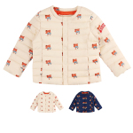 Multi lesser panda quilted wellon jacket