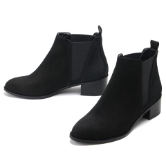 Suede chelsea boots_kw14268_4cm_첼시부츠