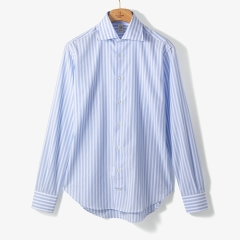 [TBRM]CLASSIC DRESS SHIRT (STRIPE 1) SKY BLUE/TB92M40000A83