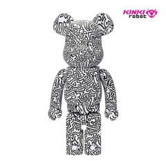 1000%BEARBRICK KEITH HARING 4(1910008)