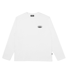 남녀공용 Oval Logo Long Sleeve T-shirt (PNES19KT0800)