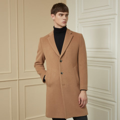by STCO [19FW 신상][CASHMERE BLENDED] 남성 브라운 포멀 코트_CCTQD04BSH