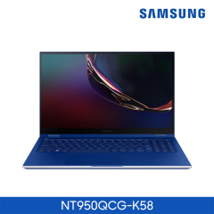 갤럭시 북 Flex NT950QCG-K58 (디스플레이 39.6cm/Intel Core i5-1035G4 Processor/256 GB NVMe SSD)