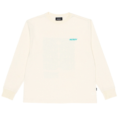 남녀공용 Typo Long Sleeve T-shirt (PNES19KT0902)