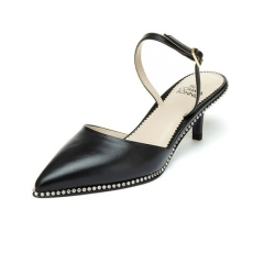 [suecommabonnie] Swan sling back(black)_DG2DX19012BLK