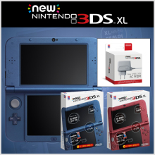 New 닌텐도 3DS XL(한글판)+3DS어댑터