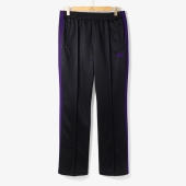 [NEEDLES]BOOT-CUT TRACK PANT BLACK/ND92M30000A98