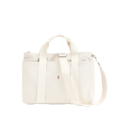 Stacey Daytrip Tote Canvas M Ivory
