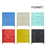 [marketb] PS Steel Drawer 2칸 (40x30x46cm) 7종